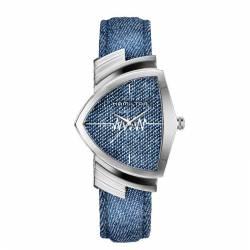 Reloj Hamilton Ventura Cuarzo Denim Textil