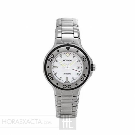Reloj Movado Serie 800 Cuarzo Lady Blanco Armis 30 mm