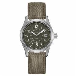 Reloj Hamilton Khaki Field Cuarzo Verde Lona 38 mm