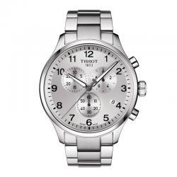 Reloj Tissot Chrono XL Classic Gris Plata Armis 45 mm.