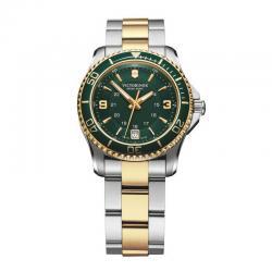 Reloj Victorinox Maverick Small Verde Bicolor Armis 34 mm
