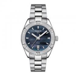 Reloj Tissot PR 100 Lady Sport Chic Cuarzo Acero Nacar negro 36 mm.