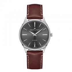 Reloj Hamilton Thinline auto negro.
