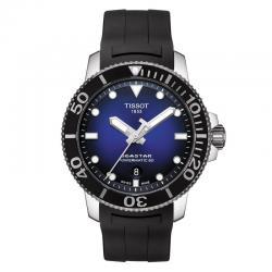 Reloj Tissot Seastar 1000 Powermatic 80 Azul Caucho Negro