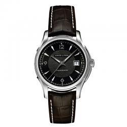 Reloj Hamilton Viewmatic negro correa