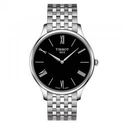 Reloj Tissot Tradition Gent Negro Cuarzo Armis 39 mm.