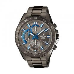 Reloj Casio Edifice Acero Crono Gris Antracita Azul Armis EFV-550GY-8AVUEF
