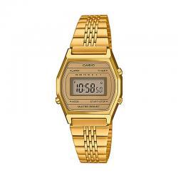 Reloj Casio Collection Digital Pequeño Armis All Golden LA690WEGA-9EF