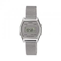 Reloj Casio Collection Digital Pequeño Milanesa Gris LA690WEM-7EF