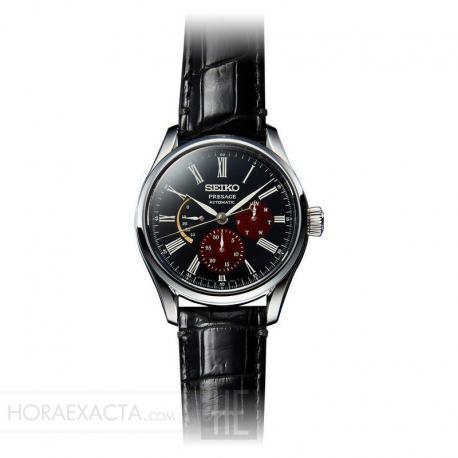 Reloj Seiko Presage Byakudan-nuri Urushi Limited Edition Reserva de Marcha SPB085J1