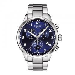 Reloj Tissot Chrono XL Classic Azul Plata Armis 45 mm.