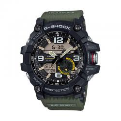 Reloj Casio G-Shock Analógico Digital Mud Resist Negro Verde. GG-1000-1A3ER