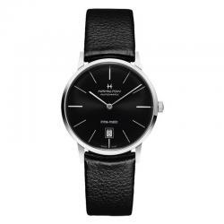 Reloj Hamilton Intra-Matic Auto Negro 38 mm Piel Negra