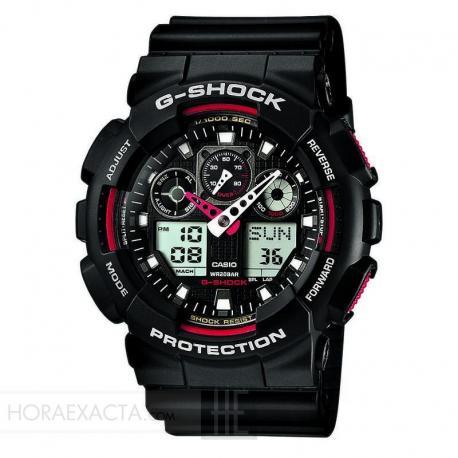 Reloj Casio G-Shock Negro GA-100-1A4ER