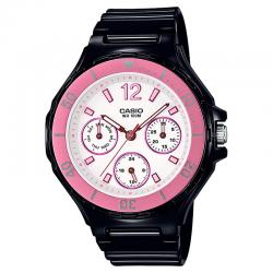 Reloj Casio Collection Analógico Negro / Blanco / Rosa Resina LRW-250H-1A3VEF