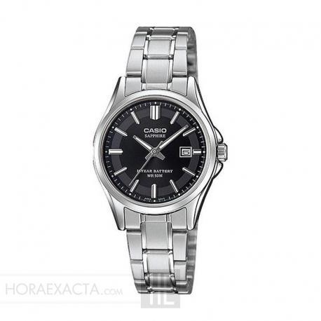 Reloj Casio Collection Analógico Negro Armis LTS-100D-1AVEF