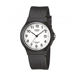 Reloj Casio Collection Analógico Blanco Resina Negra MW-59-7BVEF