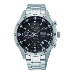 Reloj Seiko Neo Sports Cuarzo Crono Negro Armis 43 mm. SKS641P1