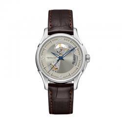Reloj Hamilton Jazzmaster Open Heart Auto Beige Piel Marrón H32565521