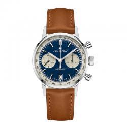 Reloj Hamilton American Classic Intra-Matic Auto Chrono Blanco Azul H38416541