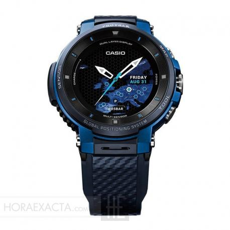 Reloj Casio Pro Trek Smart Blue WSD-F30-BUCAE