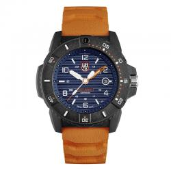Reloj Luminox Navy Seal Azul Caucho Naranja 45 mm. XS.3603