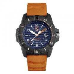Reloj Luminox Navy Seal Azul Caucho Naranja 45 mm. XS.3603