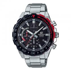 Reloj Casio Edifice Negro Rojo Armis Crono EFR-566DB-1AVUEF