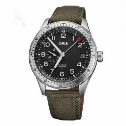 Reloj Oris Big Crown ProPilot Timer GMT Textil Verde 42 mm.