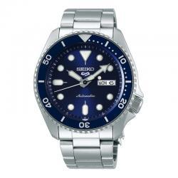 Reloj Seiko 5 Neo Sport Automático Azul Day Date Armis 42,5 mm. SRPD51K1