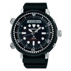"Reloj Seiko Prospex Solar ""Arnie"" Diver 200 m Negro Caucho SNJ025P1"