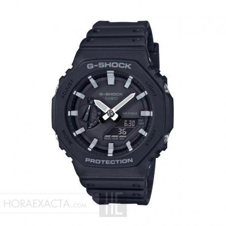 Reloj Casio G-Shock Analógico Digital Negro GA-2100-1AER