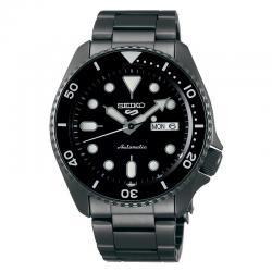Reloj Seiko 5 Neo Sport Automático PVD Negro Negro Day Date Armis 42,5 mm. SRPD65K1