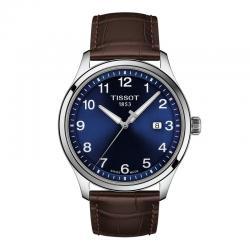 Reloj Tissot Gent XL Classic Azul Piel Marrón 42 mm. T116.410.16.047.00