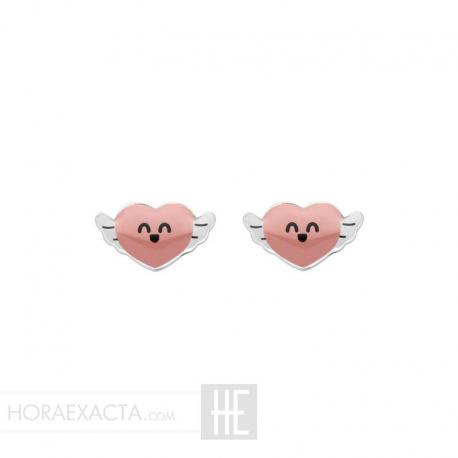 Joyería Mr Wonderful. Pendientes Love Yourself Stud WJ10306