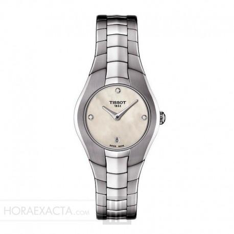 Reloj Tissot T-Round diamantes