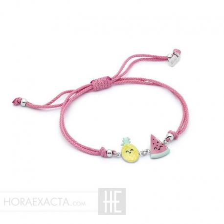 Joyería Mr Wonderful. Pulsera Tropical Party WJ30301