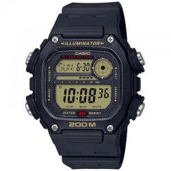 Reloj Casio Collection Digital Negro Resina Negra DW-291H-9AVEF
