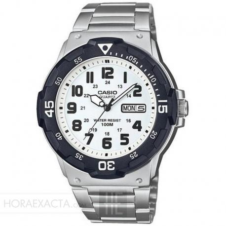 Reloj Casio Collection Analógico Blanco Armis MRW-200HD-7BVEF