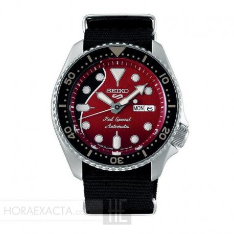 Reloj Seiko 5 Sports Brian May Red Special Limited Edition SRPE83K1