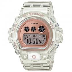 Reloj Casio G-Shock Transparente Esfera Efecto Oro Rosa GMD-S6900SR-7ER
