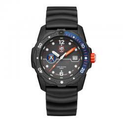 Reloj Luminox Bear Grylls Solo hora negro azul. 3723