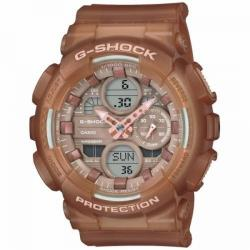 Reloj Casio G-Shock Marrón Oscuro Transparente Analógico Digital GMA-S140NC-5A2ER
