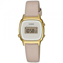 Reloj Casio Collection Vintage Mini Piel Beige LA670WEFL-9EF