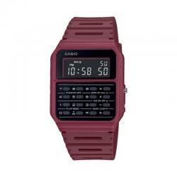Reloj Casio Collection Vintage EDGY Calculadora Granate CA-53WF-4BEF