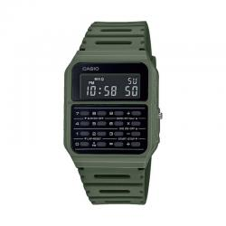 Reloj Casio Collection Vintage EDGY Calculadora Verde CA-53WF-3BEF