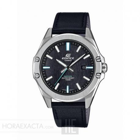 Reloj Casio Edifice Negro Piel Negra Zafiro EFR-S107L-1AVUEF