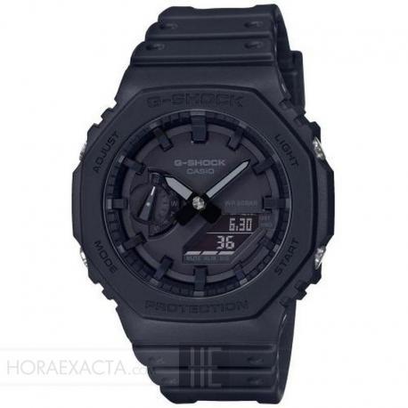 Reloj Casio G-Shock Analógico Digital All Black GA-2100-1A1ER