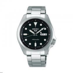 Reloj Seiko 5 Sports Automático Negro Day Date Armis 40 mm. SRPE55K1