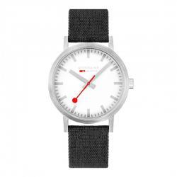 Reloj Mondaine SBB Classic Textil y Corcho Natural 40 mm. A660.30360.17SBB